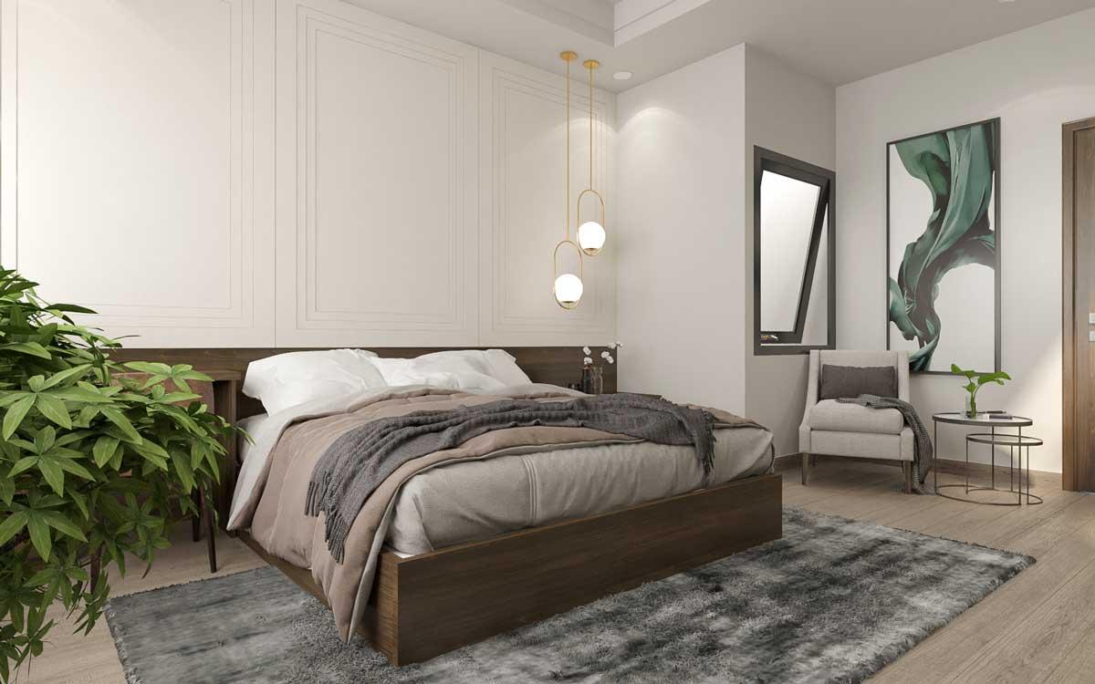 chọn giường ngủ phù hợp với không gian