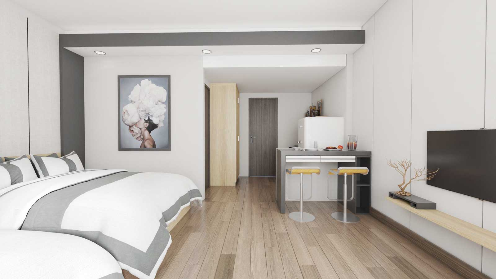 Thiết kế căn hộ chị Linh - Phước Trường