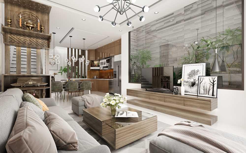 thiết kế đồ nội thất bằng gỗ công nghiệp