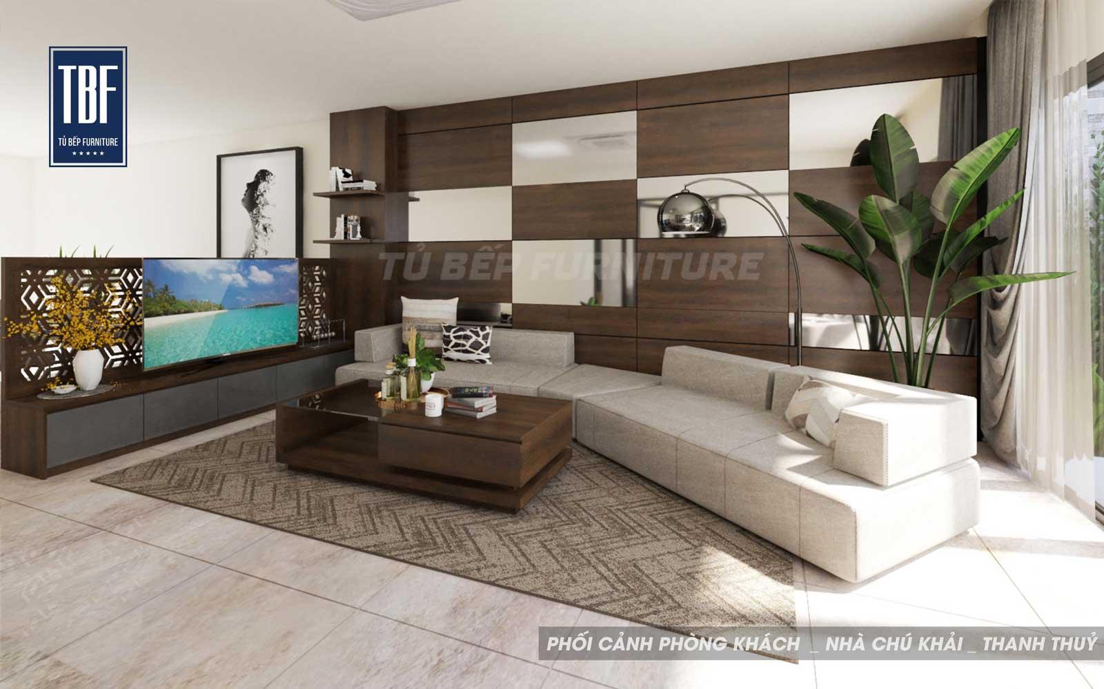 Thiết kế nội thất tận dụng sự tương phản về màu sắc