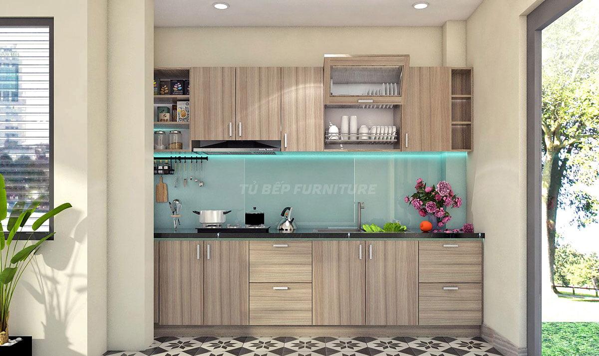 Tủ bếp căn hộ gia đình thông minh
