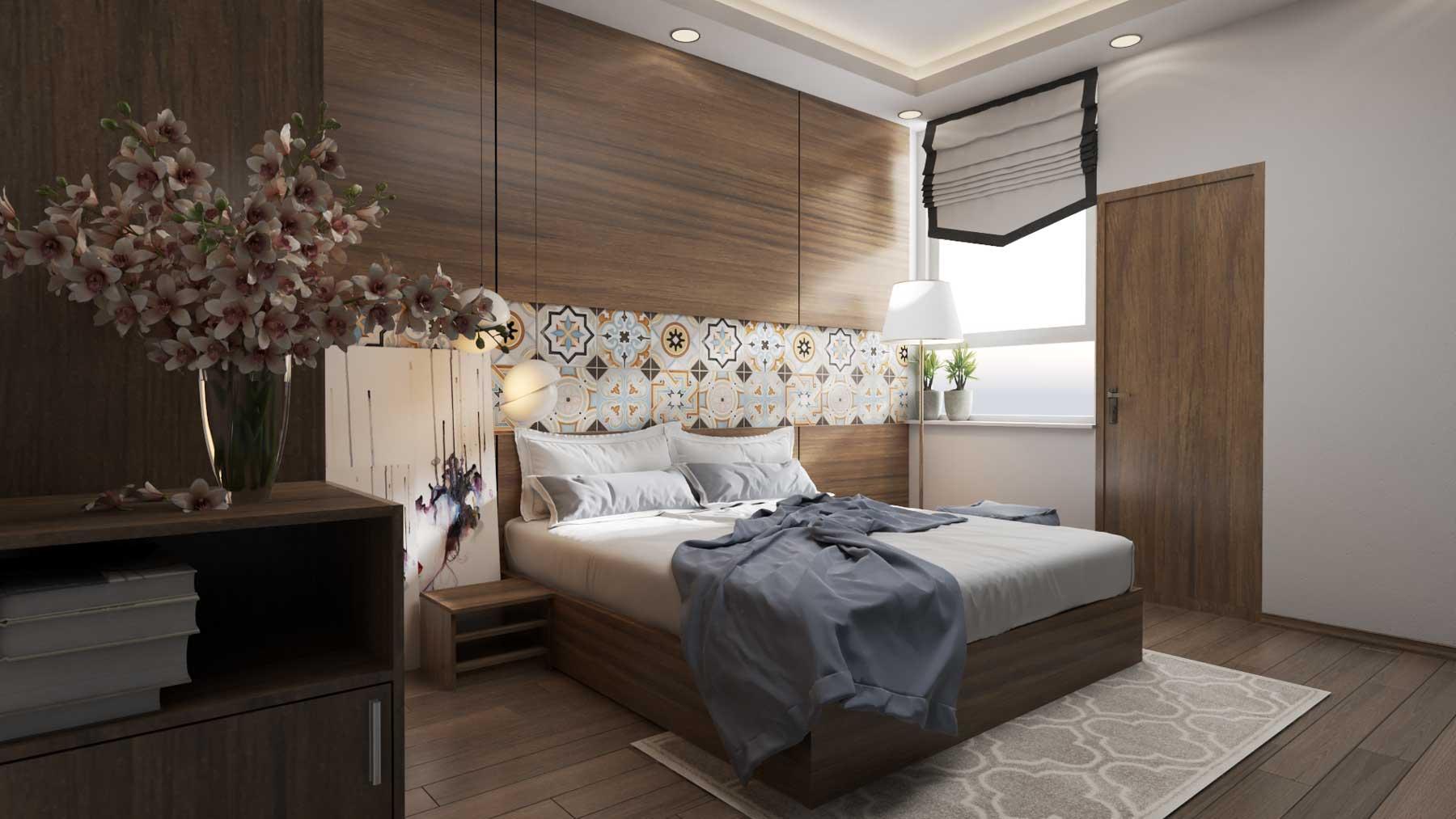 Nội thất phòng ngủ bố mẹ