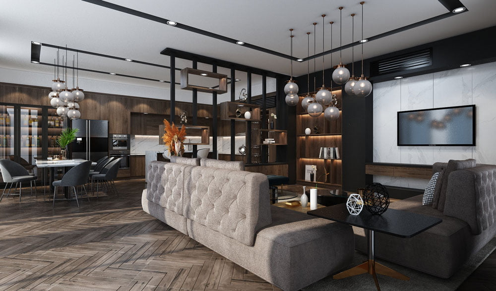Thiết kế nội thất nhà ở anh Hào