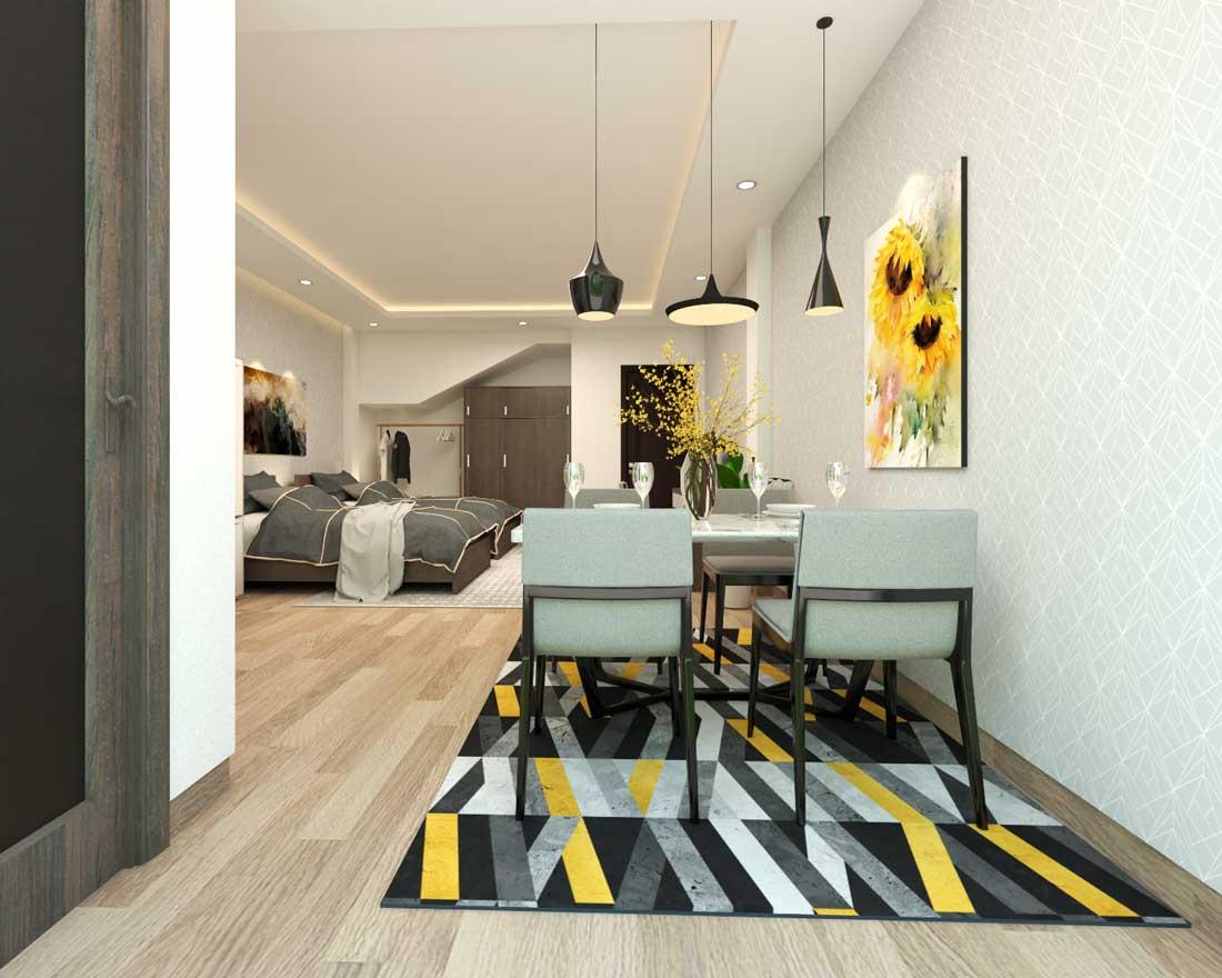 Thiết kế căn hộ anh Hà - Võ Văn Kiệt