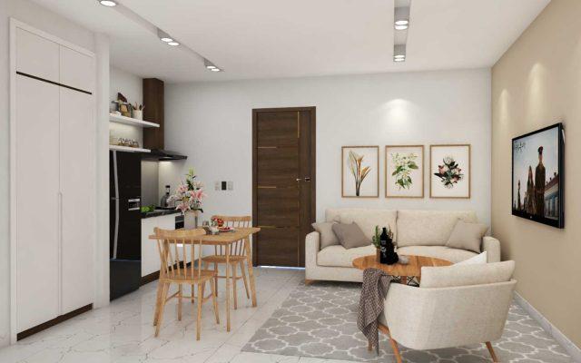 Thiết kế căn hộ chị Hoàng - Trần Kế Viêm