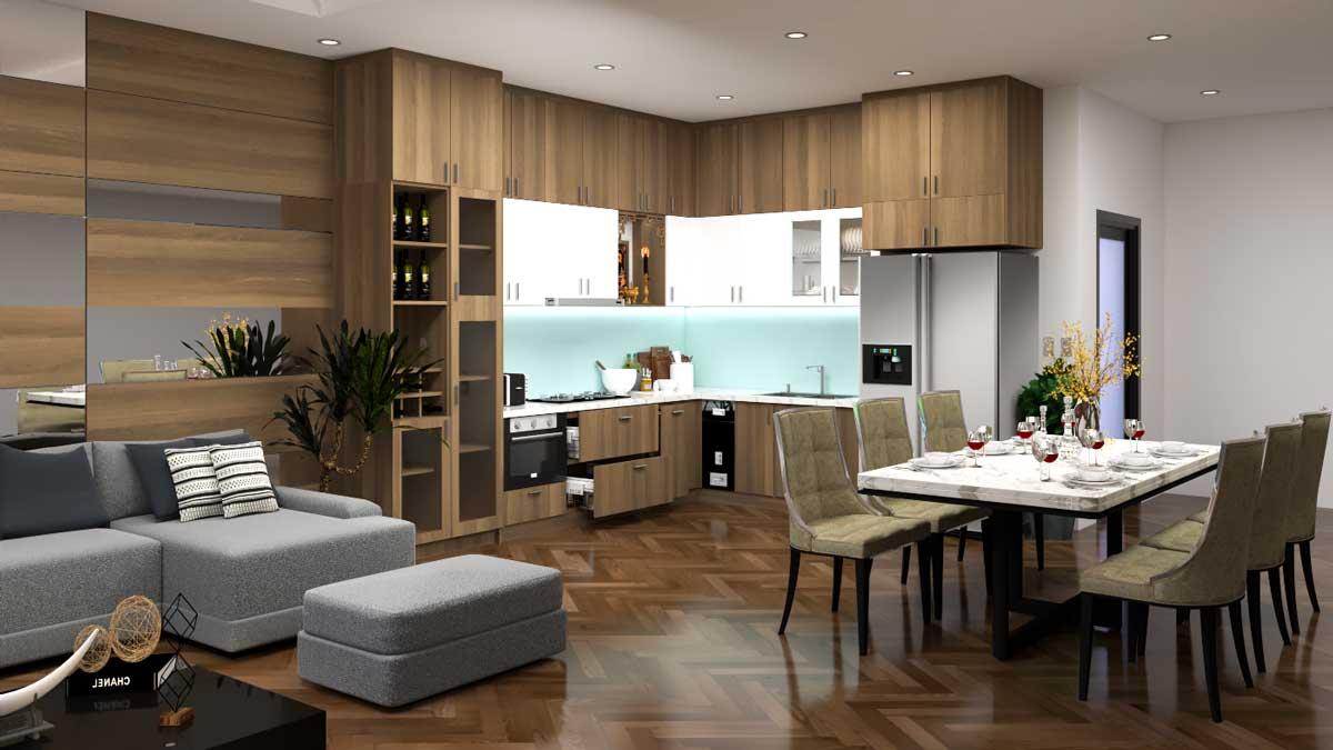 Thiết kế nội thất nhà ở anh Trung - Hội An