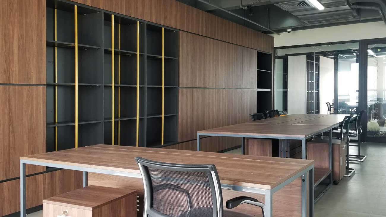 Thiết kế nội thất văn phòng Hatoco
