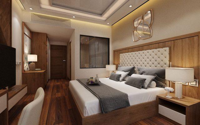 Phòng mẫu khách sạn gỗ công nghiệp