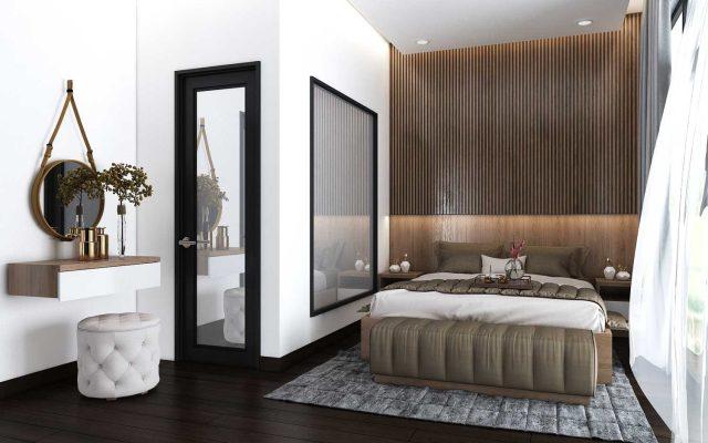 Thiết kế vách ốp tường đầu giường