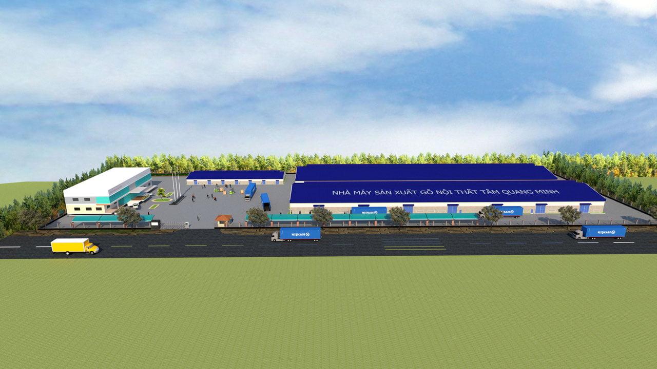 dự án nhà máy tqm